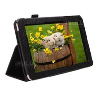 "Folding Folio Case 9 For iRULU iRULU 9"" New PU Leather Protective Case Stand Cover for iRULU eXpro X1 Tablet PC 9 Inch Stand Cover Case"