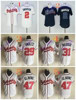 Baseball baseball tom - atlanta braves dansby swanson john smoltz greg maddux tom glavine MLB Baseball Jersey Cheap Rugby Jerseys