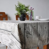 Wholesale Europe Style Tablecloth Popular quality Cotton Rectangular Table Cloth Floral Print Dustproof Tablecloths high quality Home Textile