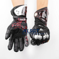 Wholesale Hot Sale GP PRO Top Racing Genuine Leather Gloves Off Road Racing Men Gloves Driving Motorcycle MOTO GP Gloves Models