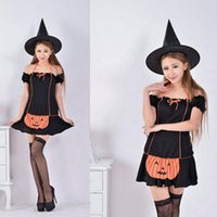 adult pumpkin - Hot Sale Seductive Devil Adult Costume Pumpkin Witch Cosplay Costume Ball Witch Costume Sexy Dress Festival Products
