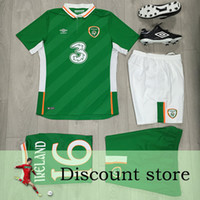 Wholesale Shipping the price of Irish Jersey European Cup soccer Robbie Keane Ireland home court green T shirt