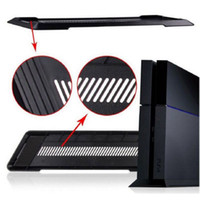 Wholesale New Black White PS4 Accessories Vertical Stand Holder Stander Base Dock Mount Bracket for Sony Playstation Play Station PS4