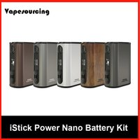 battery powered circuit - Eleaf iStick Power Nano W TC Box Mod mah Battery VW Bypass Smart TC Vaping Modes Dual Circuit Protection Original