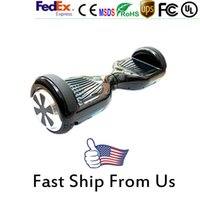 Wholesale Balance Hoverboard Inch Hoverboard Electric Scooter Wheels Smart Balance Wheel Drifting Board Scooter Skateboard LED Scooter