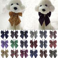 Wholesale 2015 Hot Pet Accessories Gentleman Dog Bow Ties Bow tie Pet Bow ties Adjustable Dog Cat tie Neckties