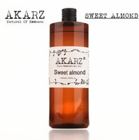 Wholesale AKZRZ Famous Brand Pure Sweet Almond Oil Natural Aromatherapy Highcapacity Skin Body Care Massage Spa Sweet Almond Essential Oil Y011