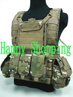 Wholesale Outdoor Tactical Vests Airsoft Molle Canteen Hydration Combat RRV Water Bag Vest Multicam
