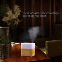 aromatherapy ingredients - perfume ingredient Changing LED lamps Wood Grain Ultrasonic Air Humidifier Aroma Diffuser Aromatherapy Office Purifier Mist Maker US Plug