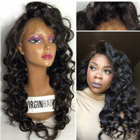 Wholesale Body Wave Full Lace Human Hair Wigs For Black Women Lace Front Wig Grade A Unprocessed Brazilian Wigs With Baby Hair
