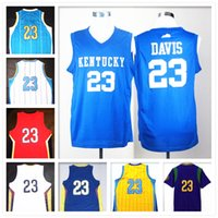 anthony davis jersey - Stitched Swingman SW Anthony Davis Bogue Johnson Hield Retro Embroidered Jerseys Throwback Jersey fashion hot sale cheap promotion sport