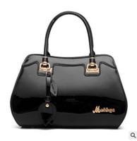 Wholesale 2016 Fashion Trend Boston Women Handbag color Leather Ladies Tote Bag Casual Shoulder Bag Female Elegant Handbags Famous Brand
