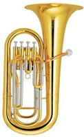 Wholesale Bb Piston Euphonium with wood case Brass wind Musical instruments Factory Supply OEM