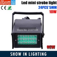 Wholesale MM W IP56 LED Strobe Light DJ Disco Operated DJ Party Stage Effect Laser For Disco Mini Laser Light