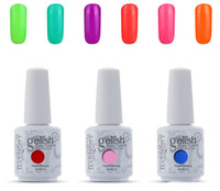 Wholesale HOT SALE ml New Arrival Harmony Gelish Soak Off UV Nail Gel Polish Total Fashion Colors Available gelish polish