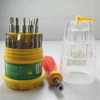 Wholesale 1set In Precision Electron Screwdriver Hand Repair tools Set for PC Phone
