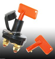 Wholesale Cut Off Cutoff Switch TWO Battery Disconnect Kill Car Truck Durable Brass Terminals Rust corrosion resistant