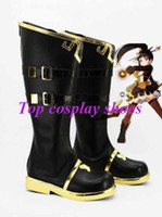 ara shoes - Freeshipping custom made anime ELSWORD Cosplay Ara Haan Little Devil Cosplay Boots shoes for Halloween Christmas festival