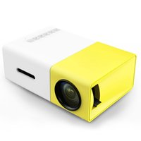 Wholesale YG300 LCD Projector LM Home Media Player Mini Projector for Video Games TV Home Theatre Movie Support HDMI SD Home Midea Player