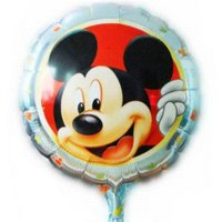 balloon banner - New arrive Lovely Minnie and Mickey balloon Birthday party Printed cartoon balloons Hot party balloons and banners
