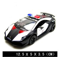 Wholesale Cool Toy Police Cars - Free shipping brand famous cool Police model car,pull back,model car collection,cars toys,kids gift boy police collection car