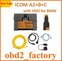 Wholesale ICOM A2 B C Plus for BMW With Reset Button V2016 HDD software DHL free ICOM A2 for BMW Programming Diagnostic