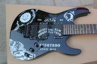 Wholesale Kirk Hammett OUIJA guitar one piece wood body fingerboard accept custom hot selling music instrument