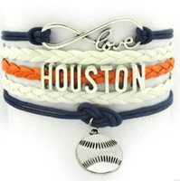 american nashville - DALLAS Baseball teams bracelet HOUSTON New York infinity love NASHVILLE COLUMBUS Baseball Charms MINNESOTA MONTREAL MILWAUKEE diy bracelet