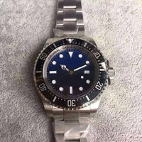 Wholesale Sapphire Sea Crystal - DEEP 44mm automatic 2836 men watch V6S noob 116660 CERAMIC 12800ft 3900m sapphire crystal sea dive bezel V7