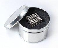ba retail - Retail Retail mm nickel magnetic balls neodymium spheres beads educational magic cube magnets puzzle Christmas gift ba
