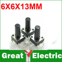 Wholesale PC DIP MM Tactile Tact Push Button Micro Switch Momentary YXSMDZ361
