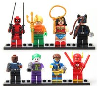 Wholesale LEGO Minifigures For Individually Single Sale Marvel Super Heroes avengers Building Blocks Model Bricks Toys
