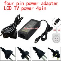 Wholesale V switching power supply Pin TCL LCD TV display power adapter v6a power supply four pin power adapter with plug