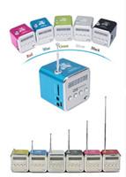 Wholesale ONLY LOVE TD V26 Digital portable Speaker Mini Speaker MP3 Player USB Disk Micro TF Player FM Radio F PC MP3 Hot