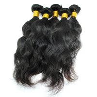 Wholesale 10A Brazilian Virgin Hair Water Wave Bundles Peruvian Indian Malaysian Human Hair Weave Cheap Remy Hair Natural Black Wave