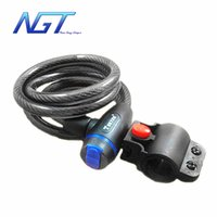 Wholesale Bicycle Cycling Bike Portable Anti Theft Security Chain Code Lock Resettable Combination Cable Lock
