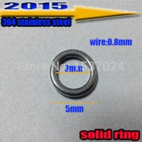 best saltwater lures - Come and buy fishing lures solid ring size mm mm the best quality stainless steel steel symbol