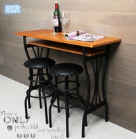 bar stools black leather - Cool black wrought iron chairs the American Bar stools round Yangfa highchair leather bar stool