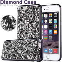 bag flashes - Diamond TPU Iphone Case Crystal Luxury Glitter Bling Flash Power Soft Case For LG K4 K8 K7 K10 iphone S plus Jewelry Case Opp Bag