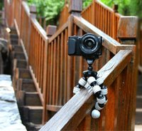 Wholesale Portable Universal Standing Tripod Happydoggy Digital Camera Selfie SLR Camera Interchangeable EM