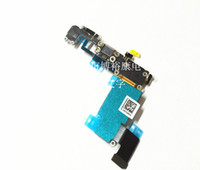 Wholesale 100 brand new iPhone S white gray dock charger USB port Headphone Audio Flex Cable Replacement Part iPhone S FRO IPHONE6S