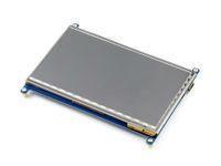 Оптово-7inch HDMI LCD емкостный сенсорный экран Панель дисплея Щит для Raspberry Pi Beaglebone Black Banana пи поддерживает различные системы