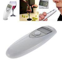 Wholesale Hot Portable Mini LCD Display Digital Alcohol Breath Tester Professional Breathalyzer Alcohol Meter Analyzer Detector Test Testing