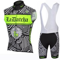 bank vest - 2016 Team Tinkoff Saxo Bank Cycling Jersey Sleeveless Summer Cycling Vest Men Fluo Green Color Cycling Clothing and Cycling Bib Short Set