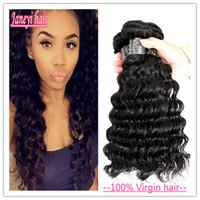 Wholesale 10A Brazilian Deep Wave Brazilian Human Hair Weave Cheap Brazilian no shedding no tangle Curly Deep Wave