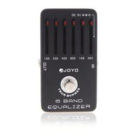 Wholesale Professional Band EQ Equalizer Guitar Violao Parts Db Effect Pedal Guitarra True Bypass for Musical Instrument Joyo JF