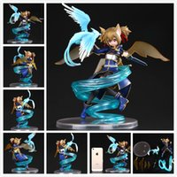 Wholesale PULCHRA Sword Art Online II Silica PVC Figure SAO Collection Model Toys Doll Anime Sword Art Online