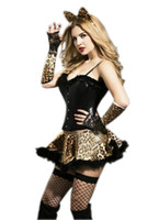 adult kitten - Most Popular Sexy Cat Kitten Costume Sexy Halloween Costumes For Women Adult Women Sexy Cat Uniform F1604