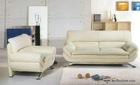 sectional sofa - French Sofa Design new genuine Leather modern sectional sofa set Chair Love Seat sofa set