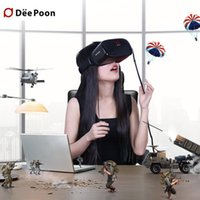 best virtual games - Best DEEPOON E2 Virtual Reality D PC Glasses VR Headset Head Mount Compatible with Oculus Rift DK2 s Game Movie